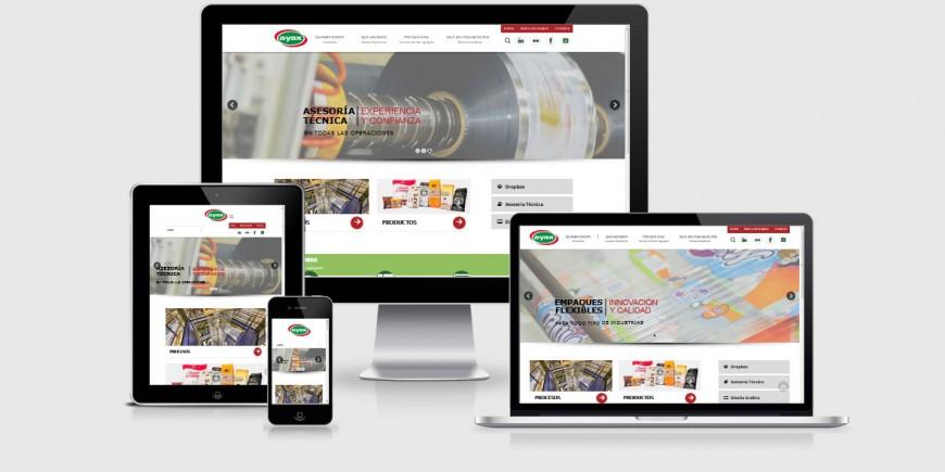 AYAX's launching a new website